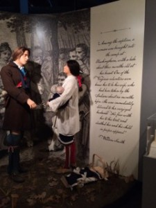 Captured by Indians Exhibit at the Fort Pitt Museum