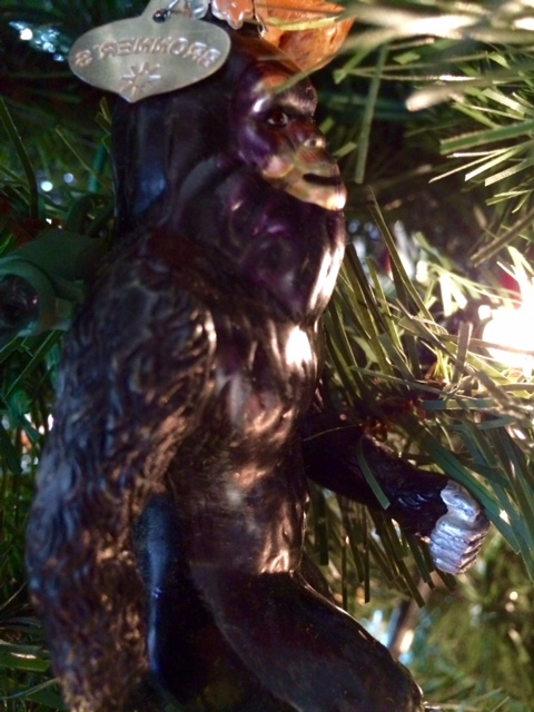 Bigfoot ornament