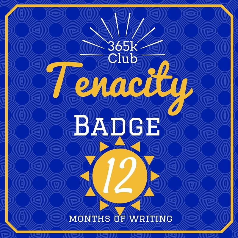 365K Club Tenacity Badge