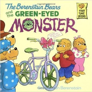 Green-Eyed Monster Berenstain Bears book