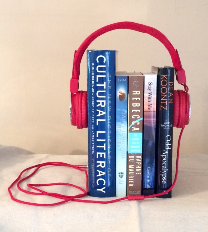Books with headset