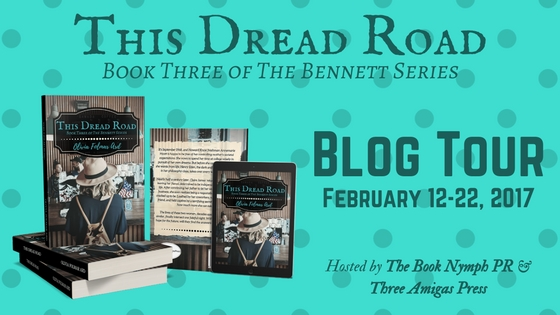 Dread Road Blog Tour header