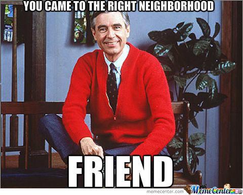 Mr Rogers meme