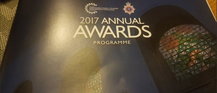 South Wales Police Annual Awards 2017