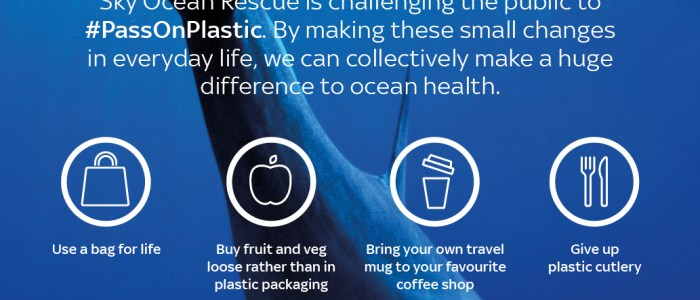 Carolyn Harris MP pledges to #PassOnPlastic with Sky Ocean Rescue