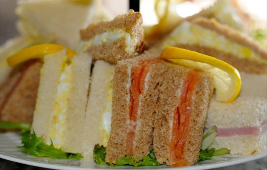 Coronation Chicken and other Tea Sandwiches
