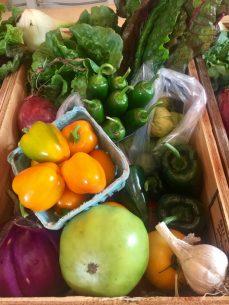 Weekly Organic Vegetables