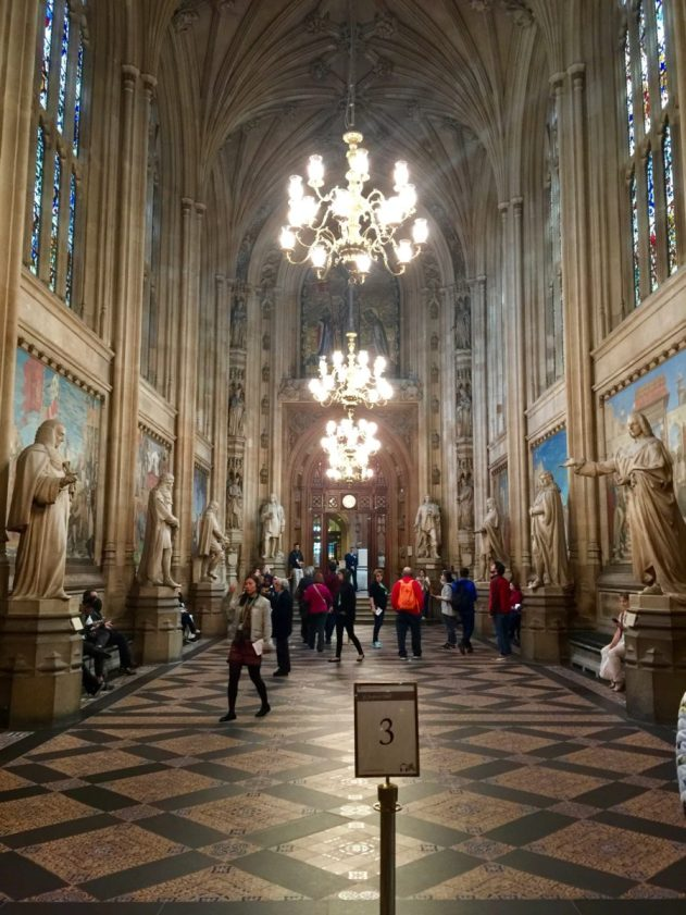 Inside Houses of Parliament