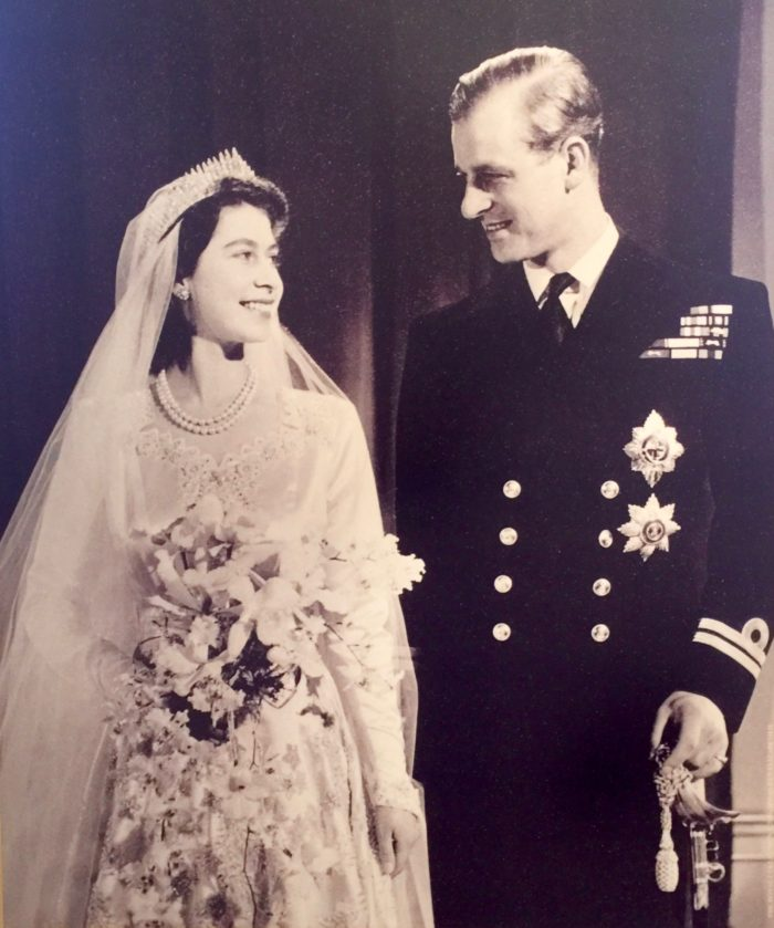 Queen Elizabeth and Prince Phillip