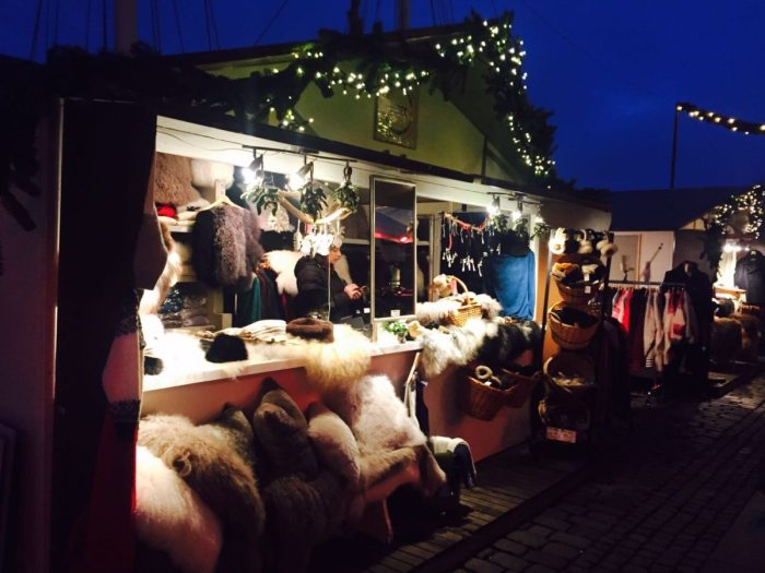 Fluffy stuff at Copenhagen Christmas Market