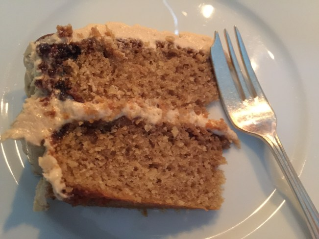 slice of coffee cake