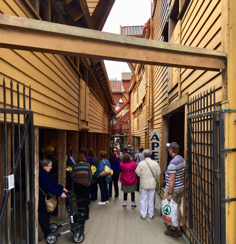 Hanseatic village in Bergen