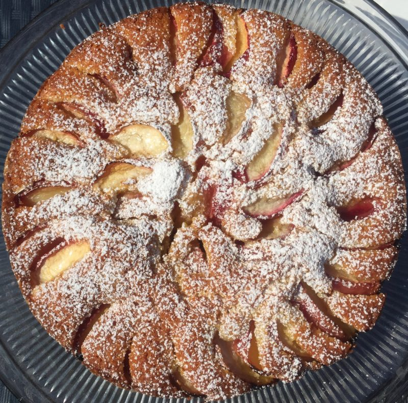 Plum Cake, the perfect breakfast food!