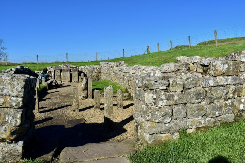 Roman Temple on Hadrian's Wall