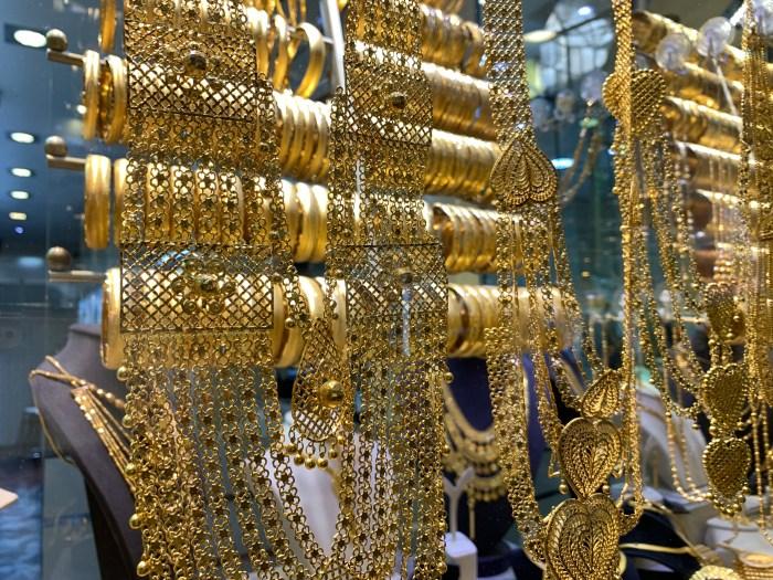 Gold Jewellery in the Grand Bazaar