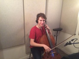 Ethan Brown, cellist for Welcome To The Symphony