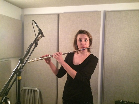 Kayla Burggraff, flautist for Welcome To The Symphony