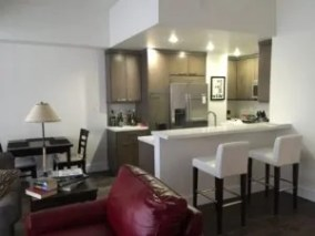 One Bedroom Wilshire Corridor furnished lease