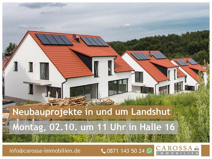 Neubauprojekte in und um Landshut