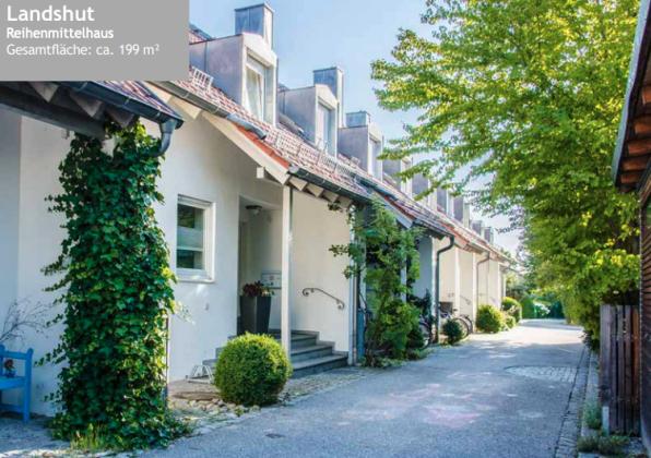Referenzen Reihenmittelhaus Landshut