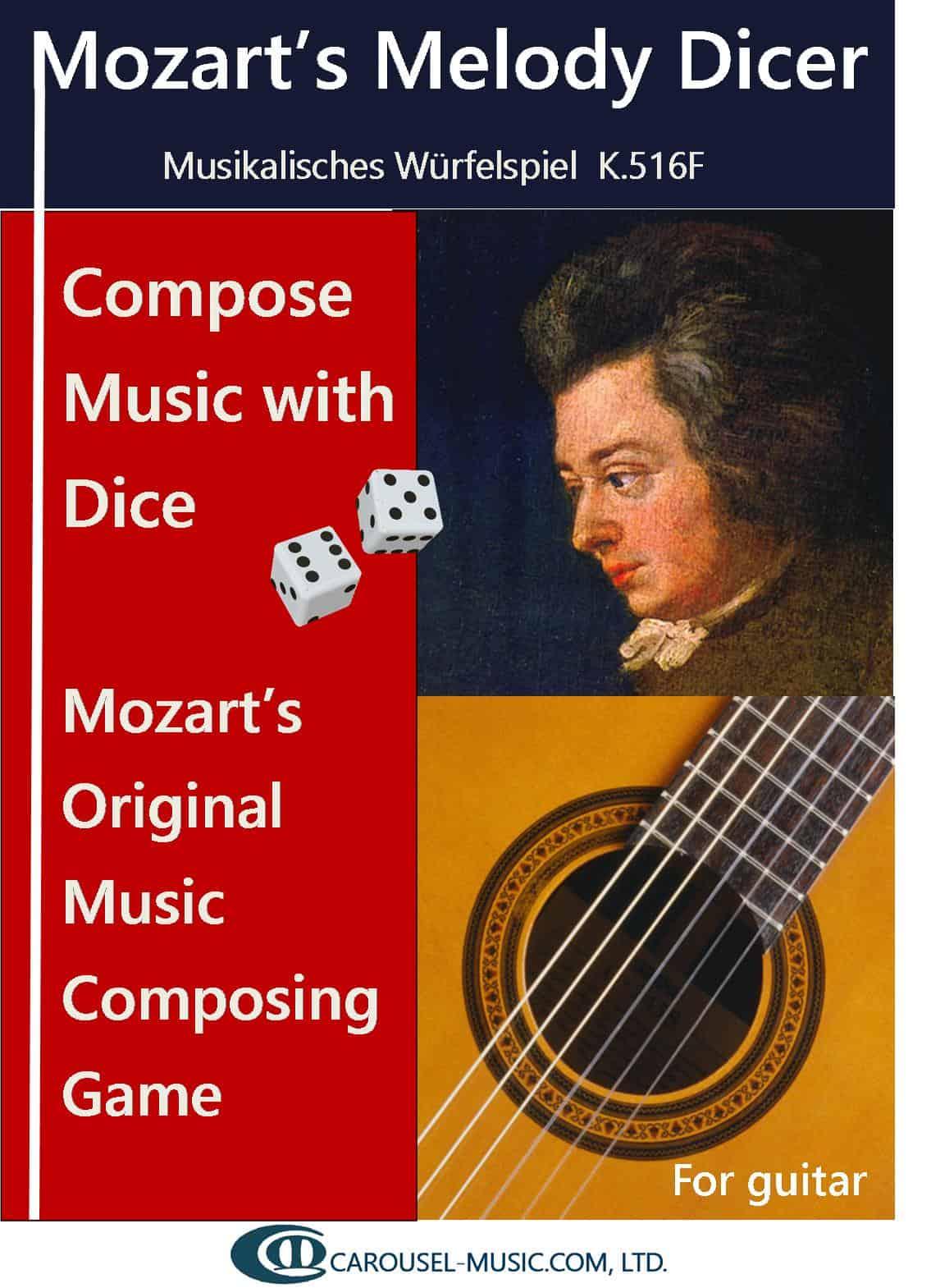 Mozart Melody Dicer for Guitar K516f E Book