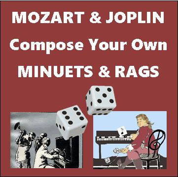 Mozart and Joplin Composing Games