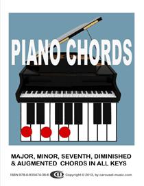Piano Chords In All Keys E Book