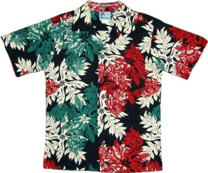Christmas in the Country Aloha Shirt