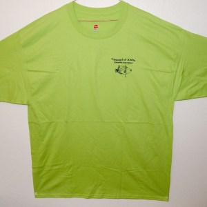 Tee - Lime Green - Front