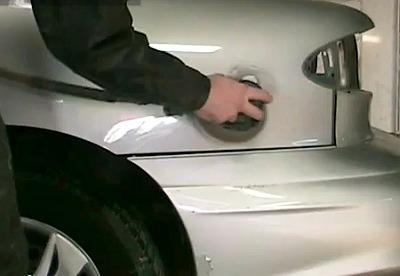car paint sending