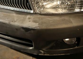 bumper peeling paint