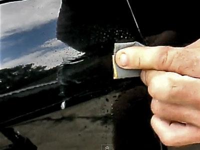 sanding scratch