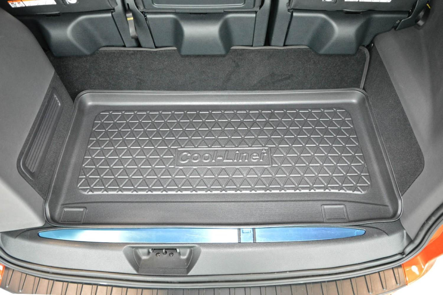 boot mat ford tourneo custom 2018 present cool liner anti slip pe tpe rubber