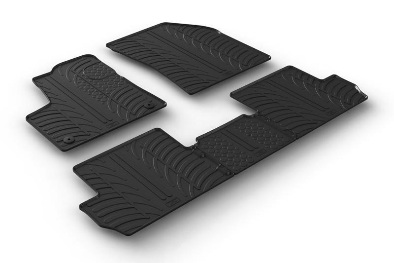 tapis peugeot 3008 ii 2016 present 5 portes bicorps antiderapant rubbasol caoutchouc