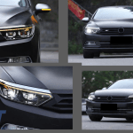 Headlights Suitable For Vw Passat B8 3g Facelift 2016 2019 Led 2020 Look With Sequential Dynamic Turning Lights Carpartstuning Com