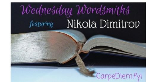 Wednesday Wordsmith author interview on CarpeDiem.fyi