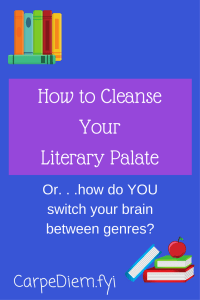 Your literary palate? featured on CarpeDiem.fyi