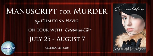 Manuscript for Murder on tour with Celebrate Lit