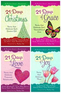 Give away for Kathy Ide, editor of 21 Days of Christmas, seasonal devotionals on tour with Celebrate Lit and featured on CarpeDiem.fyi