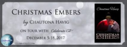Christmas Embers by Chautona Havig on tour with Celebrate Lit and featured on CarpeDiem.fyi
