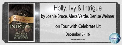 Holly, Ivy & Intrigue on tour with Celebrate Lit and featured on CarpeDiem.fyi