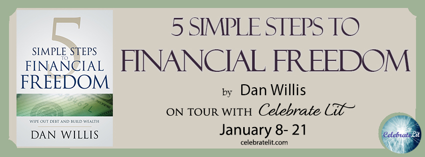 5 Steps to Financial Freedom on tour with Celebrate Lit and featured on CarpeDiem.fyi
