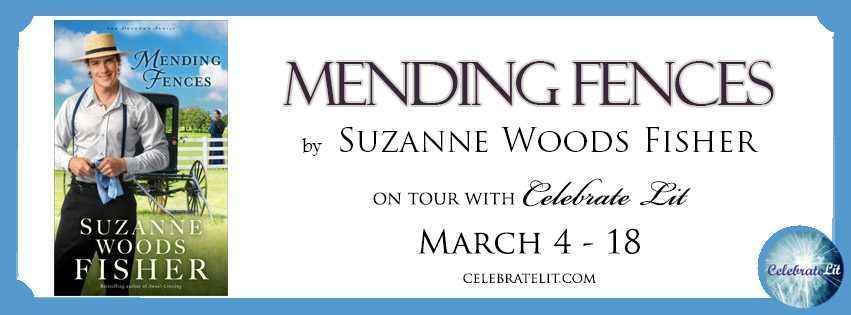 Mending Fences on tour with Celebrate Lit and featured on CarpeDiem.fyi