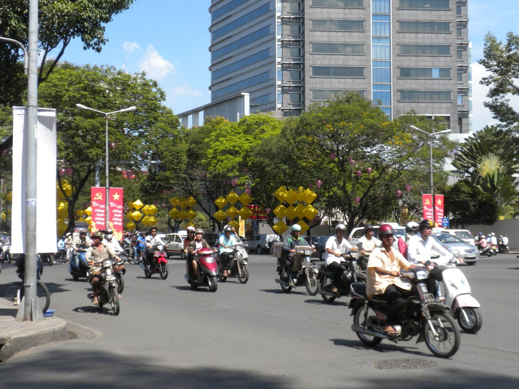 Typical Street in Saigon