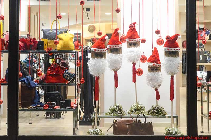 Babbi Natale Scope E Vetrine Natalizie Carpel Shop Blog