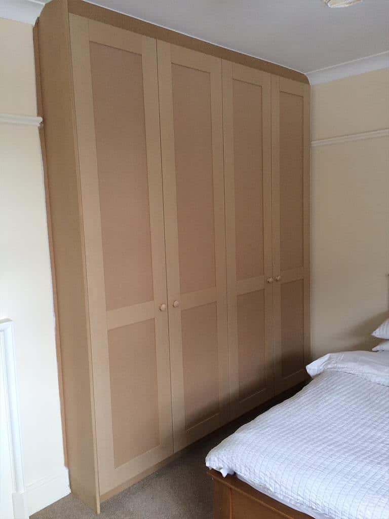 Bedroom Carpentry bespoke MDF wardrobes Norwich