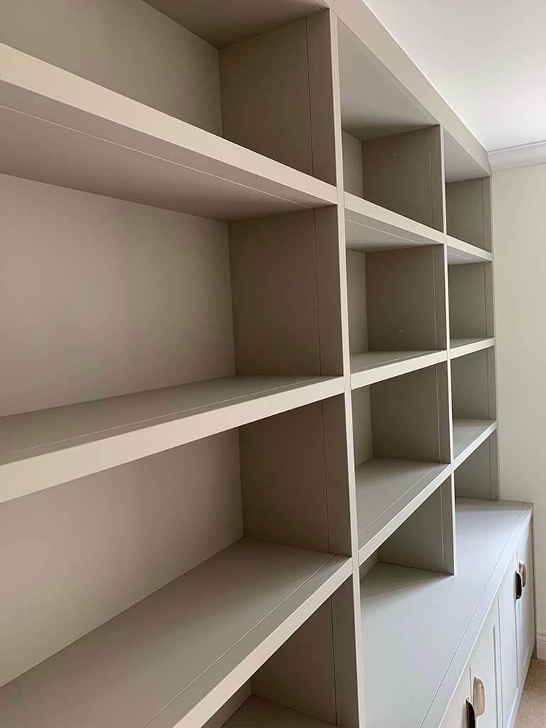 Bespoke Bookcase Shelves