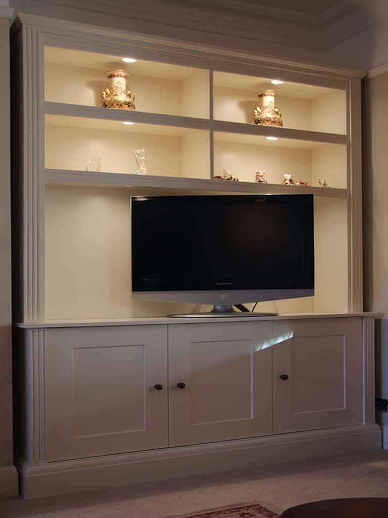 Bespoke TV unit design and installation