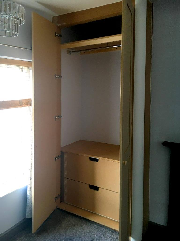 Built in wardrobe internals Norwich