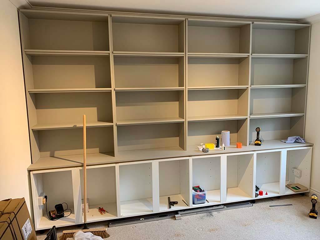 Norwich Bookcase Carpentry